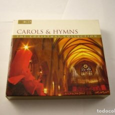 CDs de Música: CAROLS & HYMNS THE CHRISTMAS COLLECTION. Lote 100892731