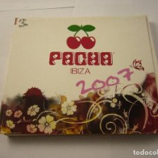 CDs de Música: PACHA IBIZA 2007 CD ALBUM + DVD DIGIPACK NELLY FURTADO THE KILLERS WALLY LOPEZ HIT MAKERS. Lote 100894795