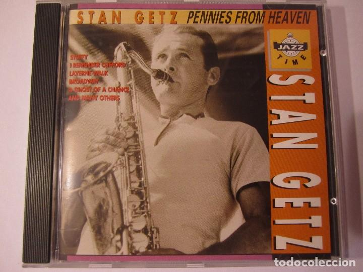 CD STAN GETZ PENNIES FROM HEAVEN JAZZ TIME (Música - CD's Jazz, Blues, Soul y Gospel)
