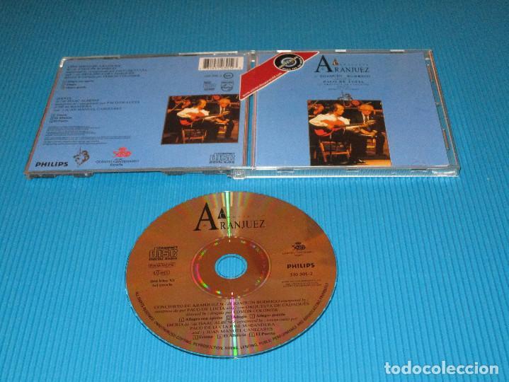 PACO DE LUCIA ( CONCIERTO DE ARANJUEZ ) - CD - 510 301-2 - PHILIPS - JOAQUIN RODRIGO (Música - CD's Clásica, Ópera, Zarzuela y Marchas)