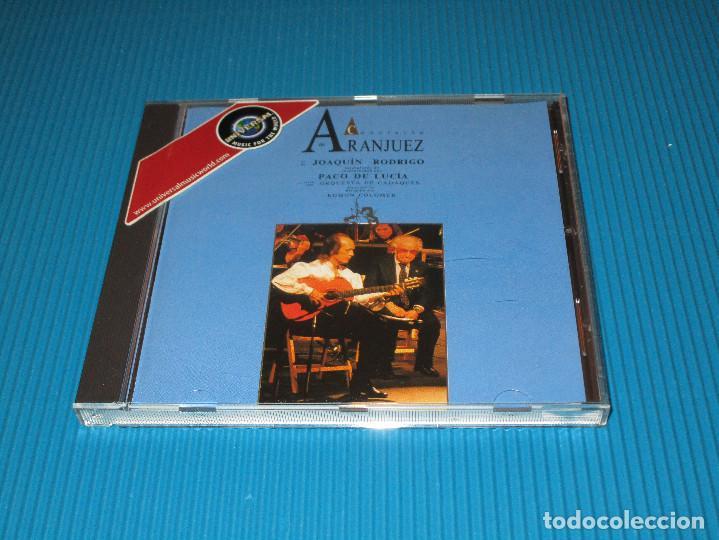 CDs de Música: PACO DE LUCIA ( CONCIERTO DE ARANJUEZ ) - CD - 510 301-2 - PHILIPS - JOAQUIN RODRIGO - Foto 2 - 101014859