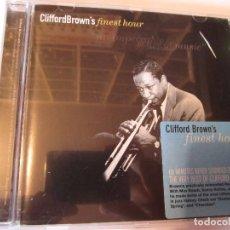 CDs de Música: CD CLIFFORD BROWN'S FINEST HOUR. Lote 101068075