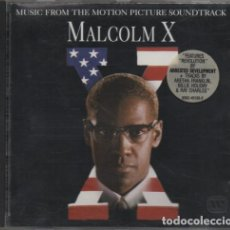 CDs de Música: MALCOLM X (MUSIC FROM THE MOTION PICTURE SOUNDTRACK). Lote 101085987