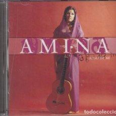 CDs de Música: AMINA - ALGO DE MI - CD RARO. Lote 101092811