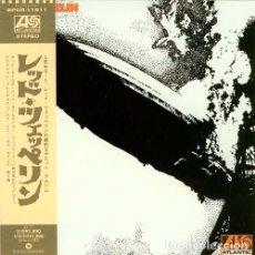 CDs de Música: LED ZEPPELIN CD I MINI LP DIGIPACK JAPAN CON OBI IMPORT COLECCIONISTA. Lote 101093407
