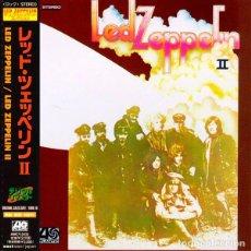 CDs de Música: LED ZEPPELIN CD II MINI LP DIGIPACK JAPAN CON OBI IMPORT COLECCIONISTA. Lote 101093495