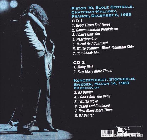 CDs de Música: LED ZEPPELIN 2XCD DOBLE FINAL RENDEZ-VOUS CD LIVE MUY RARO COLECCIONISTA - Foto 2 - 38393949
