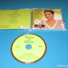 CDs de Música: MARIA DEL MONTE ( 12 EXITOS DE ORO ) - CD - 44019 - ROSE SOUND - MI AMOR NO TIENE NOMBRE - AL ALBA. Lote 101095039