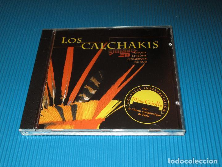 CDs de Música: LOS CALCHAKIS ( CHANTS ET FLUTES DAMERIQUE DU SUD ) - CD - Nº 121482 - BLUE EYES - ZAMPOÑITA ... - Foto 2 - 101096743
