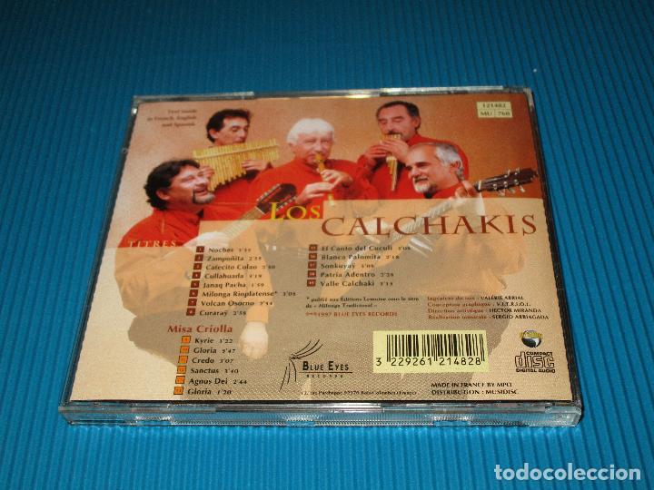 CDs de Música: LOS CALCHAKIS ( CHANTS ET FLUTES DAMERIQUE DU SUD ) - CD - Nº 121482 - BLUE EYES - ZAMPOÑITA ... - Foto 3 - 101096743