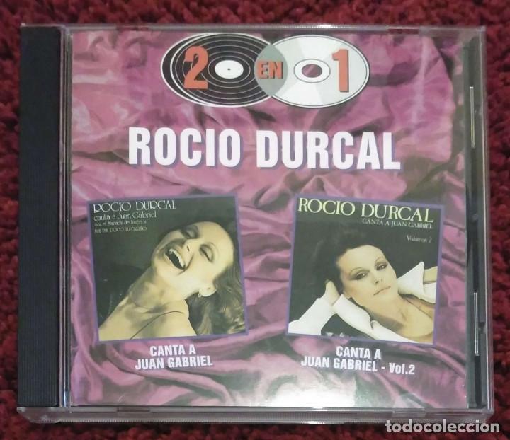 ROCIO DURCAL (CANTA A JUAN GABRIEL VOL. 1 Y VOL. 2) CD 1997 SERIE 2 EN 1 (Música - CD's Melódica )