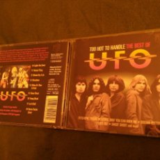 CDs de Música: CD UFO - TOO HOT TO HANDLE: THE VERY BEST OF UFO (2012). Lote 101100759