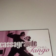 CDs de Música: BAL-6 CASSAGRANDE CHILL TANGO LOS MEJORES TANGOS EN VERSION CHILL OUT. Lote 218392012