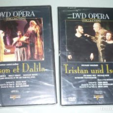 CDs de Música: 2 DVD OPERA. TRISTAN UND ISOLDE- SAMSON ET DALILA.. Lote 101111267