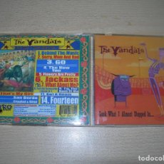 CDs de Música: CD THE VANDALS-LOOK WHAT I ALMOST SLEPPED IN... 2000 PUNK ENVIO GRATUITO. Lote 101111843