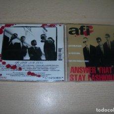 CDs de Música: CD AFI-ANSWER THAT AND STAY FASHIONABLE 1995 PUNK ENVIO GRATUITO. Lote 101111987