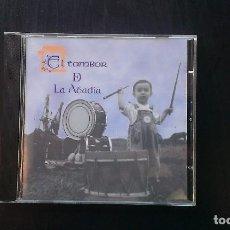 CDs de Música: CD EL TAMBOR DE LA ABADÍA ASTURIAS TRADICIONAL FOLKLORE. Lote 101127199