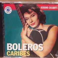 CDs de Música: VERANO CALIENTE Nº1 / 4. BOLEROS CARIBES. CD / CAMBIO 16. 10 TEMAS / CALIDAD LUJO.. Lote 101127923