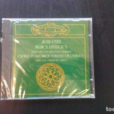 CDs de Música: CD JUAN PAEZ MÚSICA LITÚRGICA ASTURIAS RELIGIOSA. Lote 101128711