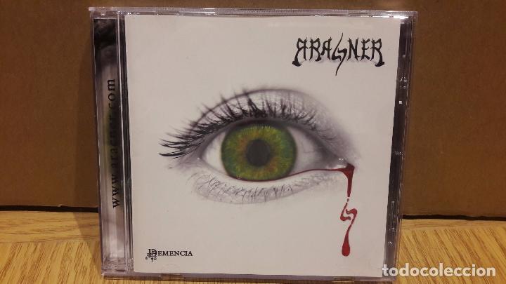 ARACNER. DEMENCIA. HEAVY METAL CÁDIZ. CD /BIGBAND. 10 TEMAS / CALIDAD LUJO. (Música - CD's Heavy Metal)