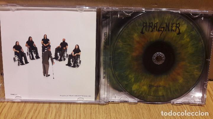 CDs de Música: ARACNER. DEMENCIA. HEAVY METAL CÁDIZ. CD /BIGBAND. 10 TEMAS / CALIDAD LUJO. - Foto 2 - 152554272