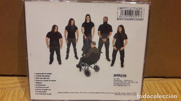 CDs de Música: ARACNER. DEMENCIA. HEAVY METAL CÁDIZ. CD /BIGBAND. 10 TEMAS / CALIDAD LUJO. - Foto 3 - 152554272