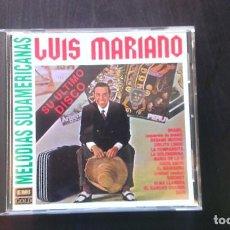 CDs de Música: CD LUIS MARIANO MELODÍAS SUDAMERICANAS CANCIÓN MELÓDICA ESPAÑA. Lote 101129691