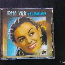 CDs de Música: CD IRMA VILLA Y SU MARIACHI MÉJICO. Lote 101129791