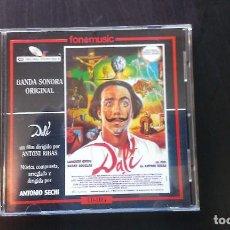 CDs de Música: CD BSO DALÍ MÚSICA COMPUESTA POR ANTONIO SECHI BANDA SONORA. Lote 101129891