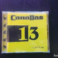CDs de Música: CD CANALLAS Y PA TI LA RIMA ESPAÑA ROCK URBANO. Lote 101130011
