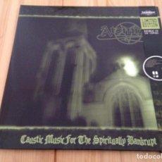 CDs de Música: ATOMIZER -- CAUSTIC MUSIC FOR THE SPIRITUALLY BANKRUPT -DOBLE CD EN UNA CARPETA FORMATO GATEFOLD LP. Lote 101130999