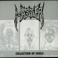 CDs de Música: MASTER -- COLLECTION OF SOULS -DEATH METAL DIGIPACK PAUL SPECKMAN. Lote 101135175