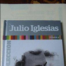 CDs de Música: CD MÁS LIBRO. JULIO IGLESIAS,SU MEJOR COLECCIÓN. AMÉRICA.CON 12 CANCIONES.. Lote 101157527