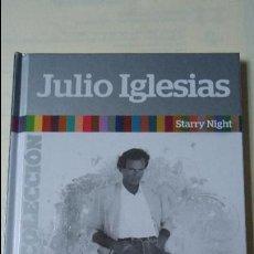 CDs de Música: CD MÁS LIBRO. JULIO IGLESIAS,SU MEJOR COLECCIÓN. STARRY NIGHT. CON 10 CANCIONES.. Lote 101167643