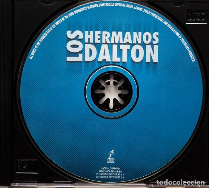 CDs de Música: Los Hermanos Dalton / Nunca Mas (Promo) - Foto 4 - 101169451
