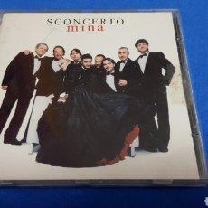 CDs de Música: MINA SCONCERTO CD ALBUM. Lote 101185967
