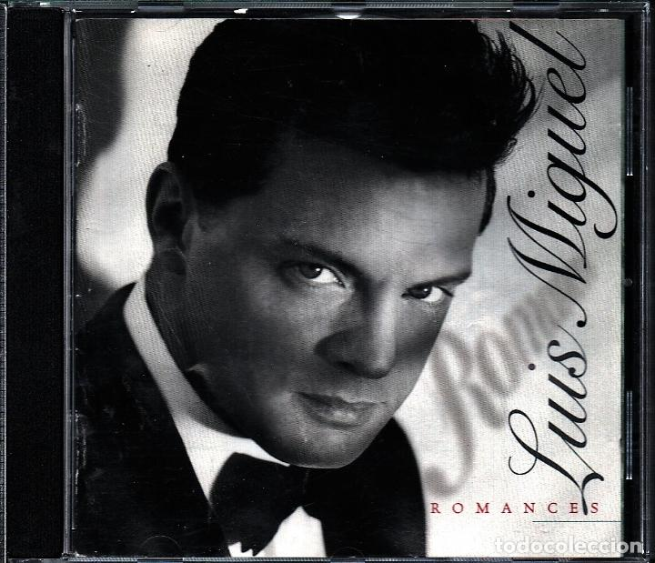 MUSICA GOYO - CD ALBUM - LUIS MIGUEL - ROMANCES - *AA98 (Música - CD's Latina)