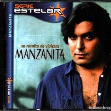 CDs de Música: MUSICA GOYO - CD ALBUM - MANZANITA - UN RAMITO DE VIOLETAS - RARO - *UU99. Lote 101207199