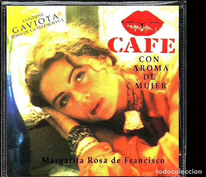 MUSICA GOYO - CD ALBUM - MARGARITA ROSA DE FRANCISCO - CAFE CON AROMA DE MUJER - RARO - *XX99 (Música - CD's Latina)