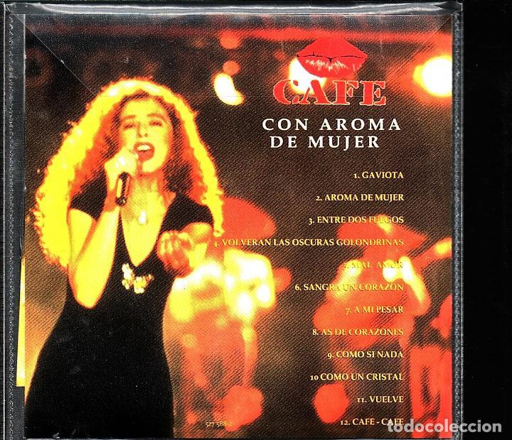 CDs de Música: MUSICA GOYO - CD ALBUM - MARGARITA ROSA DE FRANCISCO - CAFE CON AROMA DE MUJER - RARO - *XX99 - Foto 2 - 101207591