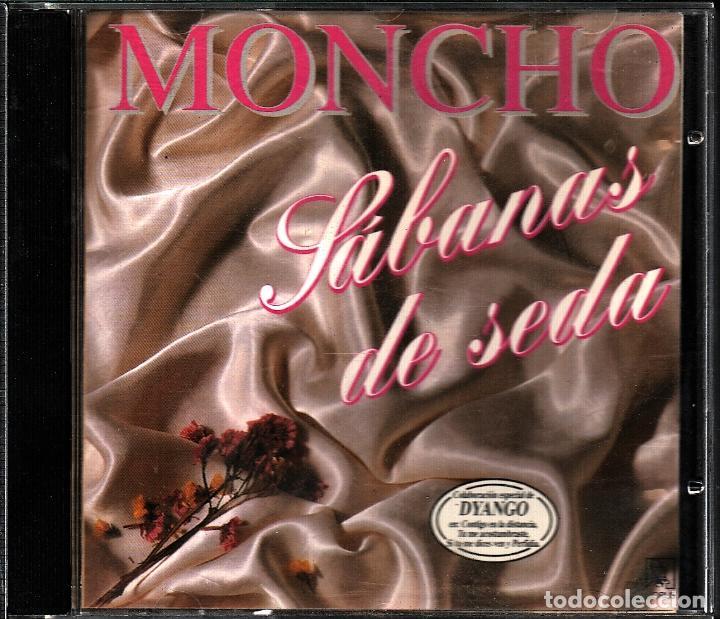 MUSICA GOYO - CD ALBUM - MONCHO - SABANAS DE SEDA - RARO - *AA98 (Música - CD's Latina)