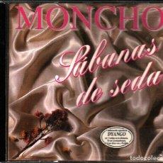 CDs de Música: MUSICA GOYO - CD ALBUM - MONCHO - SABANAS DE SEDA - RARO - *AA98. Lote 101207719