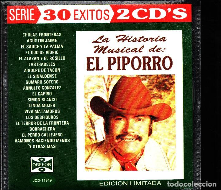 MUSICA GOYO - CD ALBUM - PIPORRO - HISTORIA MUSICAL DE EL PIPORRO - DOBLE CD - RARISIMO - *UU99 (Música - CD's Latina)