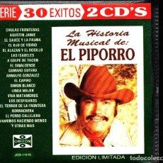 CDs de Música: MUSICA GOYO - CD ALBUM - PIPORRO - HISTORIA MUSICAL DE EL PIPORRO - DOBLE CD - RARISIMO - *UU99. Lote 101208531