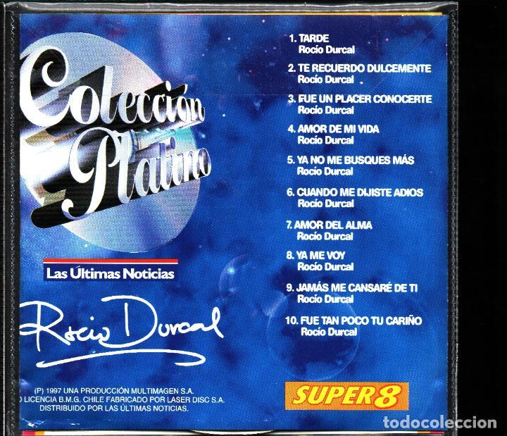 CDs de Música: MUSICA GOYO - CD ALBUM - ROCIO DURCAL - COLECCION PLATINO VOL.2 - RARISIMO - *AA98 - Foto 2 - 101209999