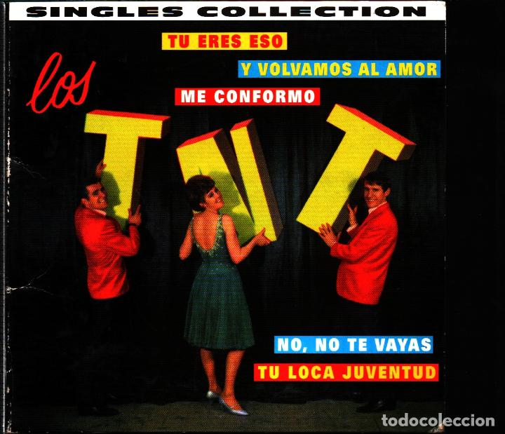 MUSICA GOYO - CD ALBUM - LOS TNT - SINGLES COLLECTION - RARO - *AA98 (Música - CD's Latina)