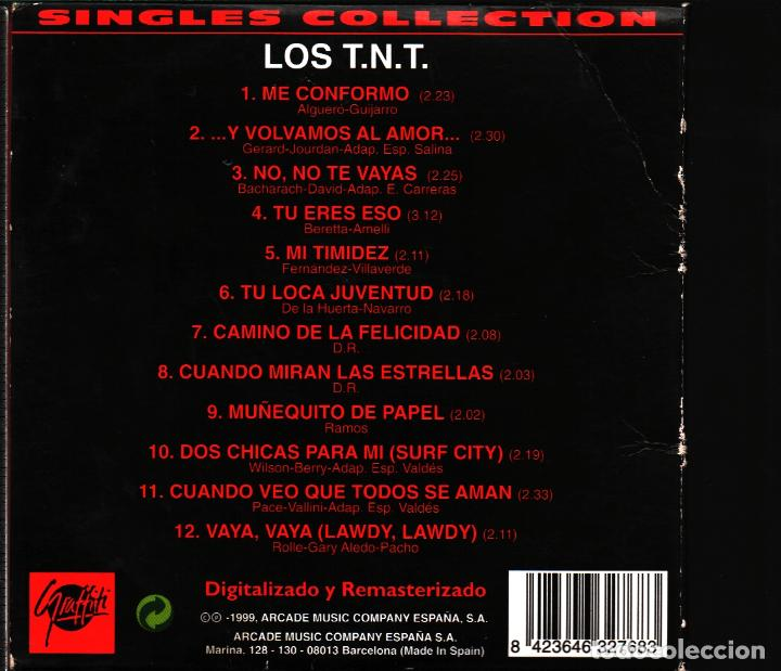 CDs de Música: MUSICA GOYO - CD ALBUM - LOS TNT - SINGLES COLLECTION - RARO - *AA98 - Foto 2 - 101212479