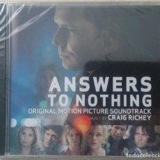 CDs de Música: ANSWERS TO NOTHING - CRAIG RICHEY - PRECINTADO - CD OST / BSO / BANDA SONORA / SOUNDTRACK. Lote 101225551