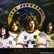 CDs de Música: THE BEST OF LED ZEPPELIN - VOLUME ONE - EARLY DAYS - CD 13 TRACKS + 4 VIDEO TRACKS - ATLANTIC 1999. Lote 101276679