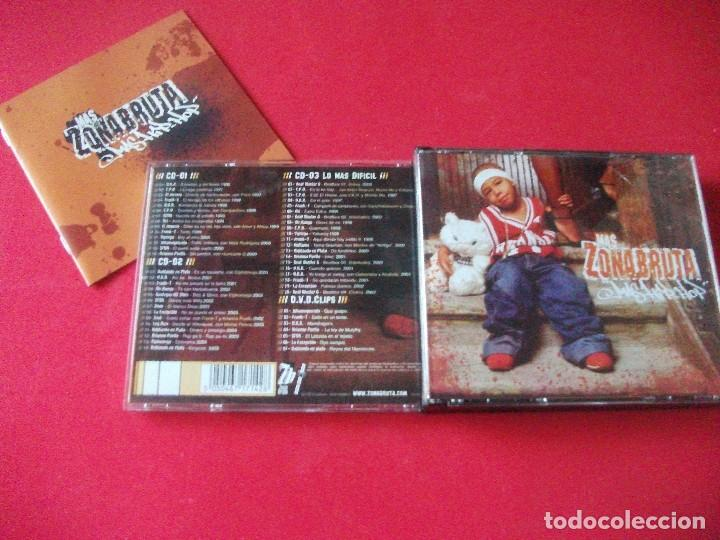 ZONA BRUTA , 3 CD + DVD, HIP HOP ESPAÑOL. FRANK T , SFDK